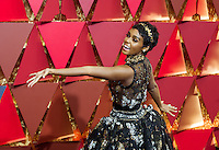 www.acepixs.com<br /> <br /> February 26 2017, Hollywood CA<br /> <br /> Janelle Monae arriving at the 89th Annual Academy Awards at Hollywood &amp; Highland Center on February 26, 2017 in Hollywood, California.<br /> <br /> By Line: Z17/ACE Pictures<br /> <br /> <br /> ACE Pictures Inc<br /> Tel: 6467670430<br /> Email: info@acepixs.com<br /> www.acepixs.com