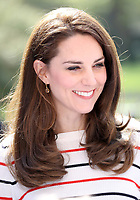 Photo Must Be Credited &copy;Alpha Press 073074 19/04/2017<br /> Kate Duchess of Cambridge Katherine Catherine Middleton at a reception for runners from Team Heads Together ahead of the 2017 Virgin Money London Marathon at Kensington Palace London<br /> <br /> *** No UK Rights Until 28 Days from Picture Shot Date ***