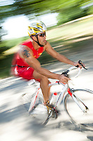 05 JUN 2010 - MADRID, ESP - Sergio Cutanda Ribera - Spanish Age Group Triathlon Championships (PHOTO (C) NIGEL FARROW)
