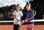 2018-09-25 / Tennis / Seizoen 2018 / Grace (l.) en Alexandra Biot<br /> <br /> ,Foto: Mpics