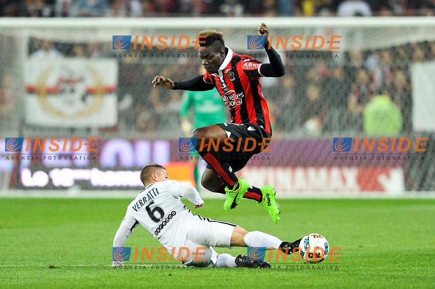 09 Mario BALOTELLI (nice)<br /> Nizza 30-04-2017 <br /> Nice - Paris Saint Germain Ligue 1 2016/2017  <br /> Foto Philippe LECOEUR/ Panoramic/insidefoto
