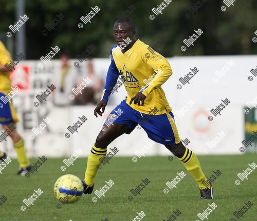 2008-09-07 / Voetbal / FC De Kempen / Abudulai Issaka..Foto: Maarten Straetemans (SMB)