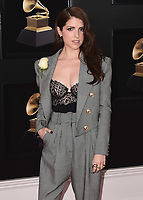 NEW YORK - JANUARY 28:  Anna Kendrick at the 60th Annual Grammy Awards at Madison Square Garden on January 28, 2018 in New York City. (Photo by Scott Kirkland/PictureGroup)