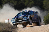 6th October 2017, Costa Daurada, Salou, Spain; FIA World Rally Championship, RallyRACC Catalunya, Spanish Rally; Ott Tanak of M-Sport WRT during the SS1 in Caseres