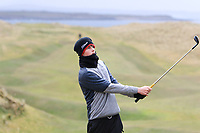 Luke O'Neill (Connemara) on the 15th during the Final Round of the Connacht U18 Boys Open 2018 on Carne Golf Links at Belmullet Golf Club on Sunday 6th April 2018.<br /> Picture:  Thos Caffrey / www.golffile.ie<br /> <br /> All photo usage must carry mandatory copyright credit (&copy; Golffile | Thos Caffrey)