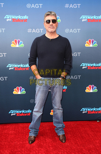 "11 March 2019 - Pasadena, California - Simon Cowell. NBC's ""America's Got Talent"" Season 14 Kick-Off held at Pasadena Civic Auditorium. <br /> CAP/ADM/FS<br /> ©FS/ADM/Capital Pictures"