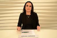 SÃO PAULO, SP - 25.07.2016 - RODA-VIDA - Adriana Carranca durante gravação do programa Roda Vida com Raul Jungmann, Ministro da Defesa na sede da TV Cultura na região oeste da cidade de São Paulo nesta segunda-feira,25.(Foto: Eduardo Martins/ Brazil Photo Press)
