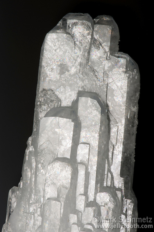 Selenite crystal, Ohio, USA