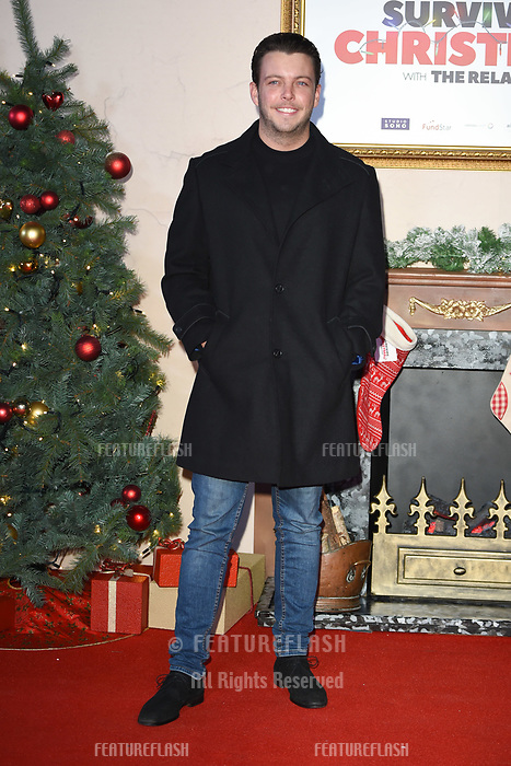 LONDON, UK. November 21, 2018: Diags at the &quot;Surviving Christmas with the Relatives&quot; premiere at the Vue Leicester Square, London.<br /> Picture: Steve Vas/Featureflash