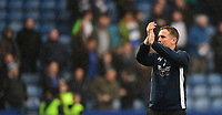 Bolton Wanderers manager Phil Parkinson applauds the fans at the final whistle<br /> <br /> Photographer Chris Vaughan/CameraSport<br /> <br /> The EFL Sky Bet Championship - Sheffield Wednesday v Bolton Wanderers - Saturday 10th March 2018 - Hillsborough - Sheffield<br /> <br /> World Copyright &copy; 2018 CameraSport. All rights reserved. 43 Linden Ave. Countesthorpe. Leicester. England. LE8 5PG - Tel: +44 (0) 116 277 4147 - admin@camerasport.com - www.camerasport.com