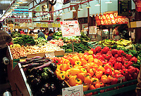 FRUITS &amp; VEGETABLES: FARMERS MARKET<br /> (Variations Available)<br /> Fresh Peppers, Eggplants And Cucumbers<br /> Vegetables provide vitamin A, vitamin C, fiber and other nutrients.  The deeper the color, the richer the nutrient content.