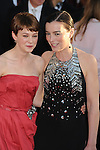 LOS ANGELES, CA. - January 23: Carey Mulligan and Olivia Williams arrives at the 16th Annual Screen Actors Guild Awards held at The Shrine Auditorium on January 23, 2010 in Los Angeles, California.