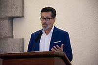 Querétaro, Qro. 18 de enero de 2019.- El secretario de Desarrollo Sustentable, Marco del Prete encabezo el lanzamiento de la aplicación móvil UpnGo. El socio fundador de la apliación Pedro Arenas comento que la aplicación tiene como objetivo enlazar la tecnología con los usuarios y aerolíneas de manera fácil y segura.