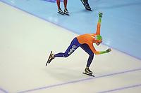 SCHAATSEN: HEERENVEEN: IJsstadion Thialf, 15-11-2012, World Cup Training, Seizoen 2012-2013, Lotte van Beek, ©foto Martin de Jong