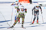 Germany's Team sprint of the FIS Cross Country Ski World Cup  in Dobbiaco, Toblach, on January 15, 2017.  Credit: Pierre Teyssot