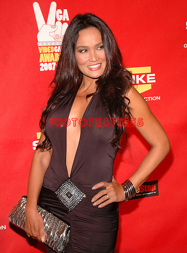 Tia Carrere arriving at the 2007 Spike TV Video Game Awards at the Mandalay Bay Hotel in Las Vegas, December 7th 2007...Photo by Chris Walter/Photofeatures