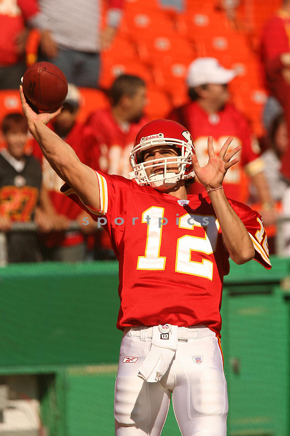 BRODIE CROYLE, of the Kansas City Chiefs in action against the Seattle Seahawks on October 29, 2006 in Kansas City, MO...Chiefs win 35-28..Kevin Tanaka/ SportPics