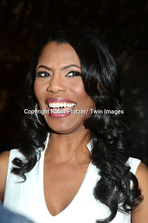 "Omarosa Manigault attend the press Event for Omarosa Manigault's firing from "" The Celebrity Apprentice"" on April 1, 2013 at Trump Tower in New York City"