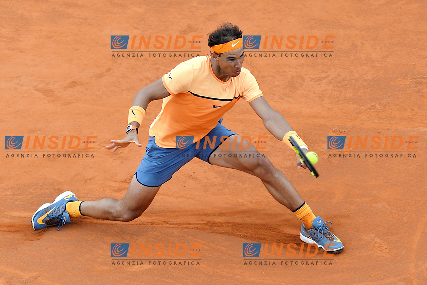 Rafael Nadal (ESP)<br /> Roma 13-05-2016  Foro Italico<br /> Internazionali BNL d'Italia, <br /> Tennis ATP<br /> Foto Antonietta Baldassarre / Insidefoto