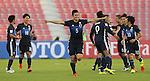 Japan vs DPR Korea during the AFC U-22 Mens Championship Qatar 2016 Group B match on January 13, 2016 at the Grand Hamad Stadium in Doha, Qatar. Photo by Adnan Hajj / World Sport Group