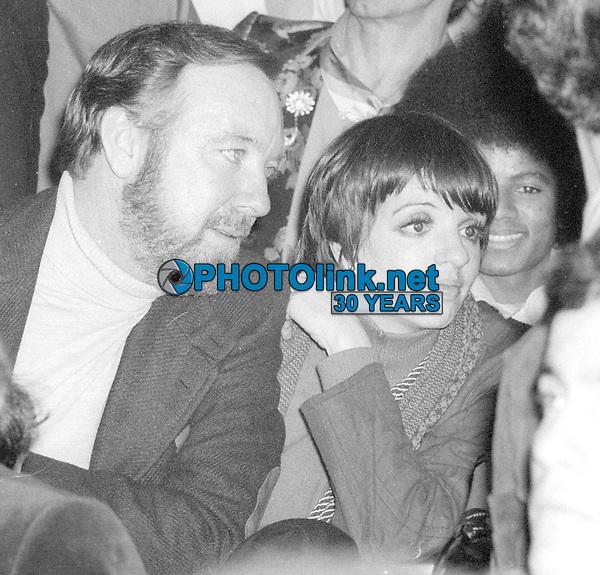 Jack HaleyJr Liza Minnelli at Studio 54 1977<br /> Photo By Adam Scull/PHOTOlink.net