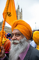 15.07.2015 - Sikh Protest & Roadblock Outside the Houses of Parliament