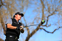 Phil Mickelson (USA) on the 6th tee during the 2nd round of the Waste Management Phoenix Open, TPC Scottsdale, Scottsdale, Arisona, USA. 01/02/2019.<br /> Picture Fran Caffrey / Golffile.ie<br /> <br /> All photo usage must carry mandatory copyright credit (© Golffile | Fran Caffrey)