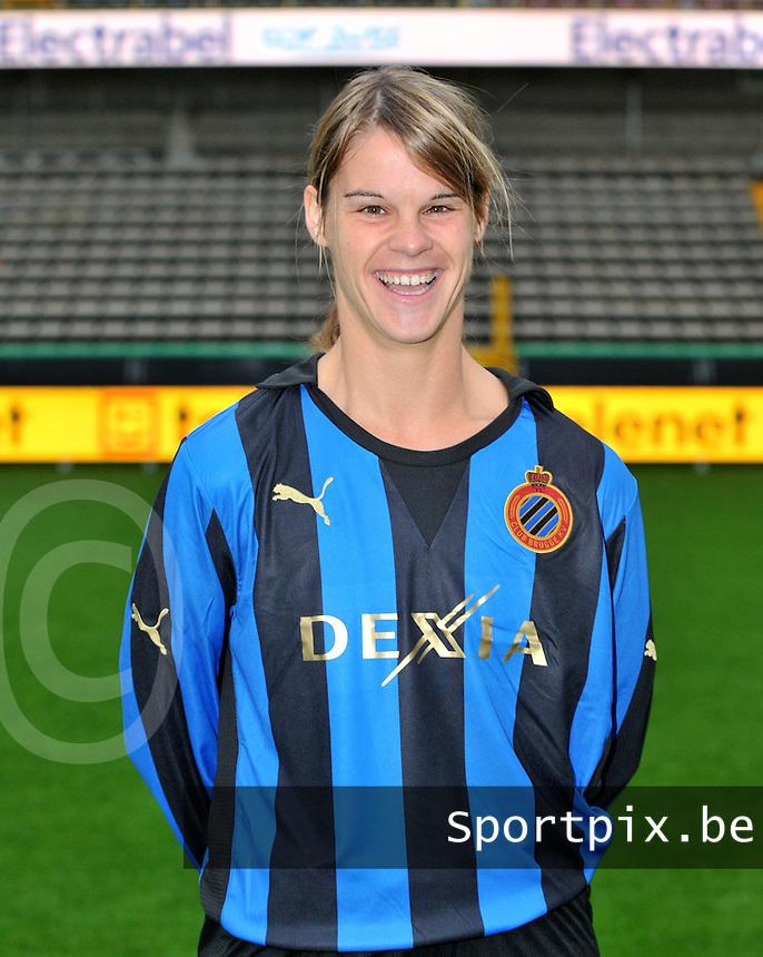 Club Brugge Dames : Bianka Ternier.foto VDB / BART VANDENBROUCKE