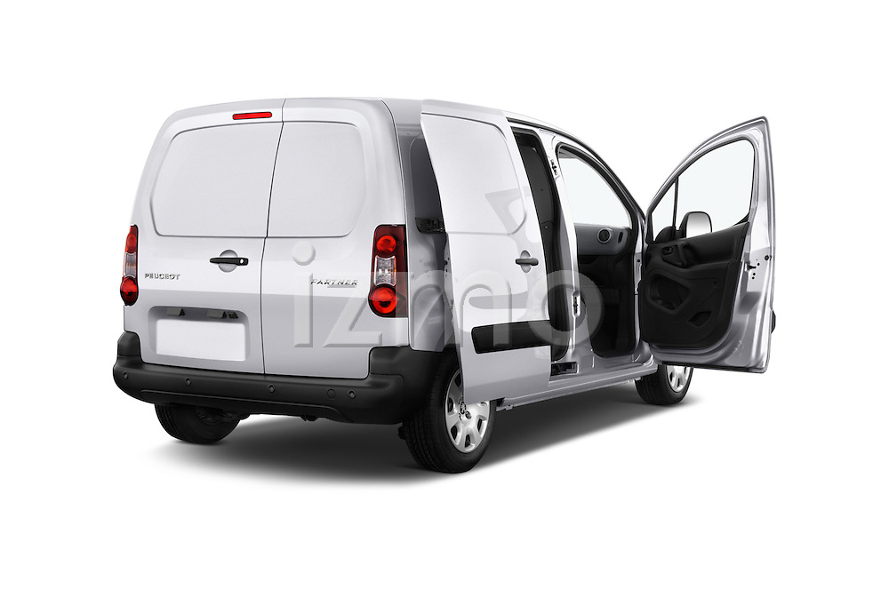 Car images of 2015 Peugeot Partner - 4 Door Car Van Doors