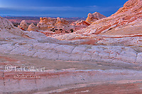 Dusk, Sandstone Bluffs, White Pocket, Vermillion Cliffs National Monument, Paria Plateau, Arizona