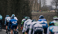 peloton breaking up<br /> <br /> 106th Scheldeprijs 2018 (1.HC)<br /> 1 Day Race: Terneuzen (NED) - Schoten (BEL)(200km)