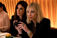 Ocean's 8 (2018) <br /> (Ocean's Eight)  <br /> SANDRA BULLOCK as Debbie Ocean, CATE BLANCHETT as Lou<br /> *Filmstill - Editorial Use Only*<br /> CAP/MFS<br /> Image supplied by Capital Pictures