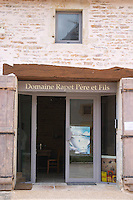 wine shop domaine rapet p & f pernand-vergelesses cote de beaune burgundy france