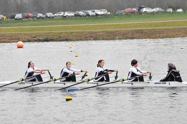 517 Evesham RC W.J15A.4x+..Marlow Regatta Committee Thames Valley Trial Head. 1900m at Dorney Lake/Eton College Rowing Centre, Dorney, Buckinghamshire. Sunday 29 January 2012. Run over three divisions.