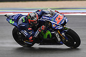10th September 2017, Misano World Circuit, Misano Adriatico, San Marino; San Marino MotoGP, Sunday Race Day; Maverick Vinales (movistar Yamaha) during the race