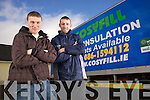 Cosyfill Insulation owner Aidan Woulfe with Kieran Collins..