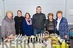 l-r Noreen Lyons from Killprglin, Aleksandra Brudzinska (Cottage Herbalist) from Killarney, Christine Griffin from Killorglin, Tomasz Terlecki from Killarney, Carole Hannah from Killorglin and Joan Hannifin from Killorglin pictured at the Christmas Fair in CYMS, Killorglin last Saturday.