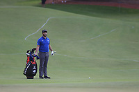 Jon Rahm (ESP) on the 15th during the 1st round of the DP World Tour Championship, Jumeirah Golf Estates, Dubai, United Arab Emirates. 21/11/2019<br /> Picture: Golffile | Fran Caffrey<br /> <br /> <br /> All photo usage must carry mandatory copyright credit (© Golffile | Fran Caffrey)