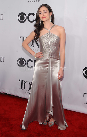 New York, NY- June 5: Emmy Rossum attends the  American Theater Wing's 68th Annual Tony Awards  on June 8, 2014 at Radio City Music Hall in New York City. (C) Credit: John Palmer/MediaPunch