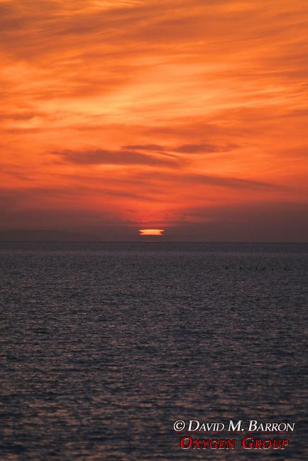 Sunrise In Baja