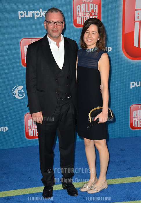 LOS ANGELES, CA. November 05, 2018: Henry Jackman at the world premiere of &quot;Ralph Breaks The Internet&quot; at the El Capitan Theatre.<br /> Picture: Paul Smith/Featureflash