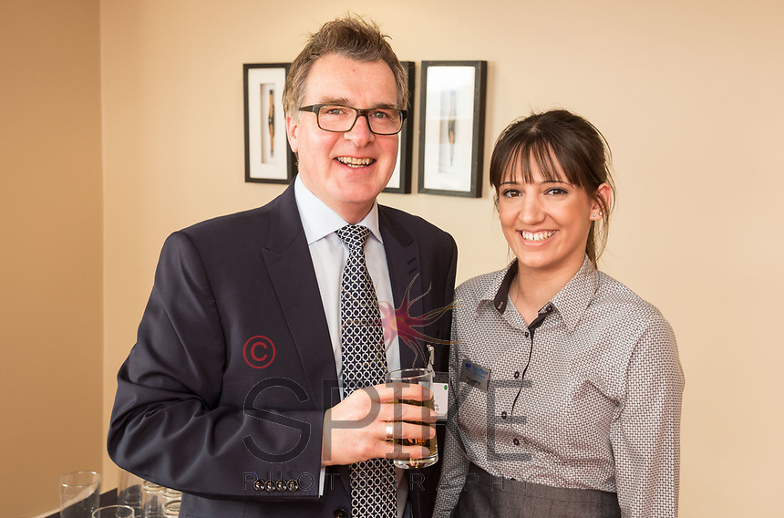 Pictured is Alan Boyden of Freestyle Marketing Communications and Yasmeena Sagoo of Park Plaza Hotel