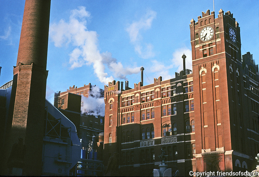 St. Louis: Anheuser-Busch Brew House, 1892. Photo '76.