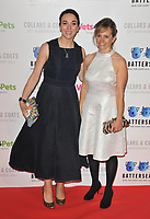 Amanda Abbington and Freya North at the Battersea Dogs &amp; Cats Home Collars &amp; Coats Gala Ball 2018, Battersea Evolution, Battersea Park, London, England, UK, on Thursday 01 November 2018.<br /> CAP/CAN<br /> &copy;CAN/Capital Pictures
