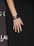 LOS ANGELES, CA - NOVEMBER 07: Actress Reese Witherspoon, bracelet, ring detail, LACMA 2015 Art+Film Gala Honoring James Turrell and Alejandro G Iñárritu, Presented by Gucci at LACMA on November 7, 2015 in Los Angeles, California.
