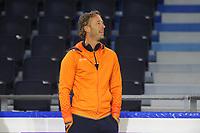 SCHAATSEN: HEERENVEEN; 14-06-2017, IJsstadion Thialf, Zomerijs, trainer/coach  Team Just Lease Rutger Tijssen, ©Martin de Jong