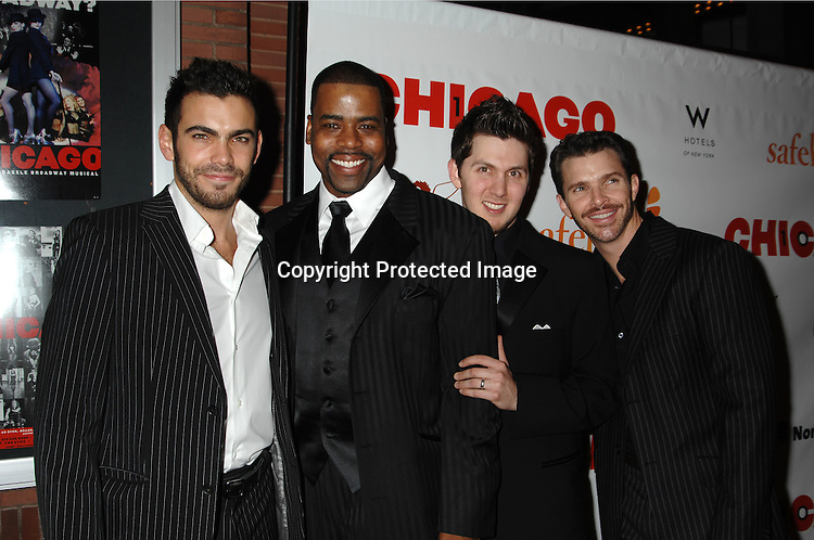 "Current Chicago Cast..arriving at The Party for ""Chicago"" The Musical's 10 year Anniversary on November 14, 2006 at New World Stages. ..It was a benefit for Safe Horizon. ..Robin Platzer, Twin Images"
