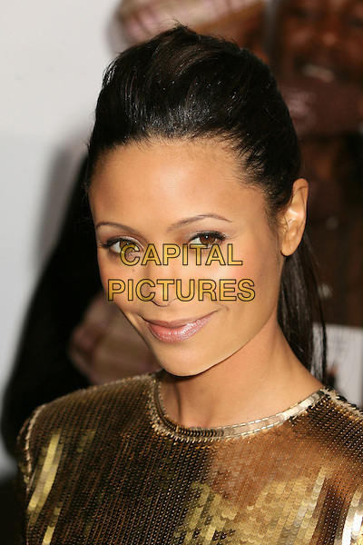 "JADA PINKETT SMITH.At the World Premiere of ""Pursuit of Happyness"" .at Mann's Village Theatre,Los Angeles, California, .USA, 07 December 2006..portrait headshot gold sequined dress .CAP/ADM/BP.©Byron Purvis/AdMedia/Capital Pictures"