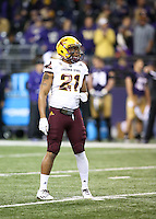 NOVEMBER 19:  ASU's Chad Adams against Washington.  Washington defeated ASU 44-18 at the University of Washington in Seattle, WA