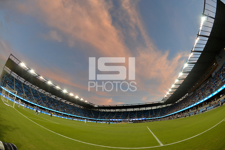 San Jose, CA - Wednesday August 29, 2018: Avaya Stadium during a Major League Soccer (MLS) match between the San Jose Earthquakes and FC Dallas at Avaya Stadium.